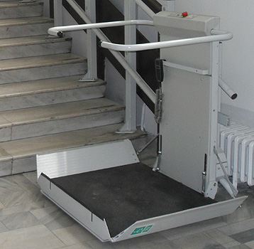 S7 Sr Platform Stair Lift